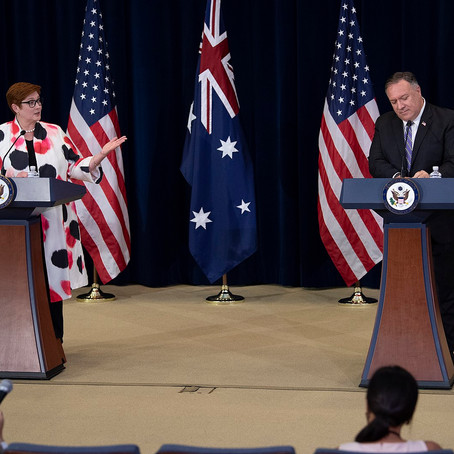 Closing ranks at AUSMIN, Australia & US brace to defend the rules-based order