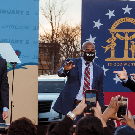 Georgia swung Blue and riots ensued in D.C., how will this shape Biden's term?