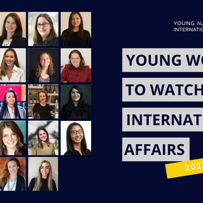 2021 Young Women to Watch in International Affairs