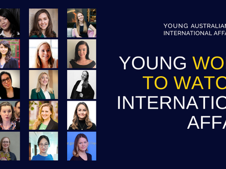 2020 Young Women to Watch in International Affairs