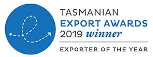Tasmanian Export Awards 2019 winner