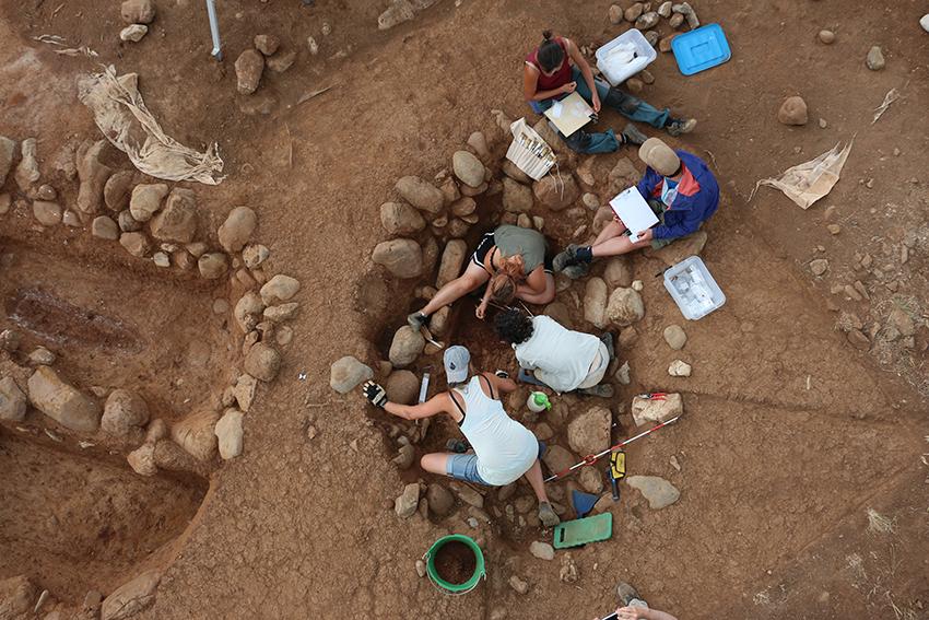 Ausgrabungen Francavilla