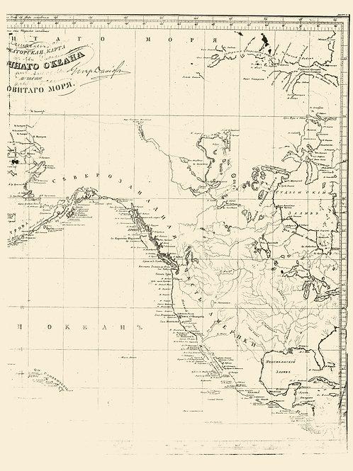 Russian Survey of North America