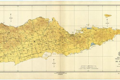 West Indies, Virgin Islands, 1923