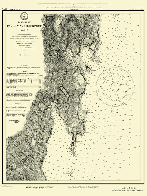 Maine: Camden and Rockport (1879)