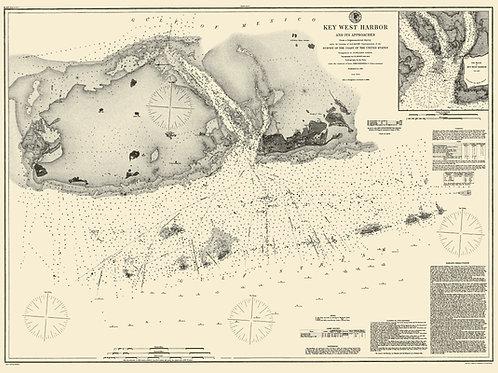 Florida: Key West, 1855