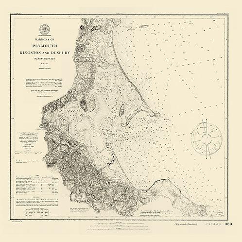 Massachusetts: Duxbury, Plymouth, and Kingston, 1877