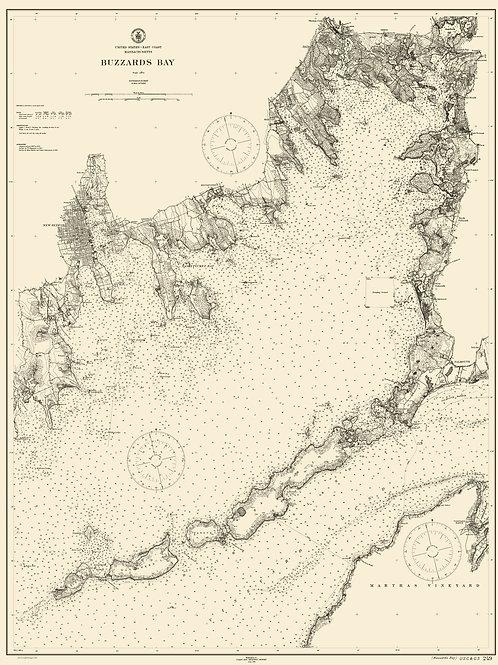 Massachusetts: Buzzard's Bay, 1911