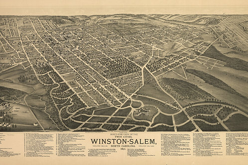 North Carolina: Winston-Salem, 1891