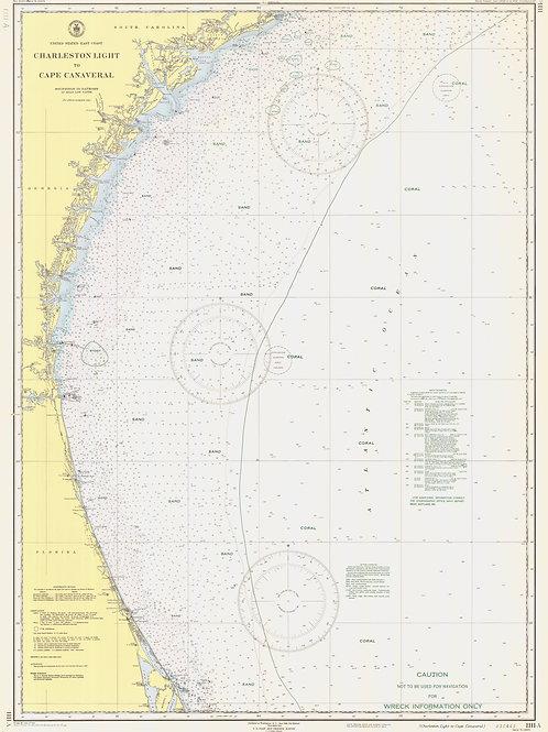 South Carolina: Charleston Light to Cape Canaveral