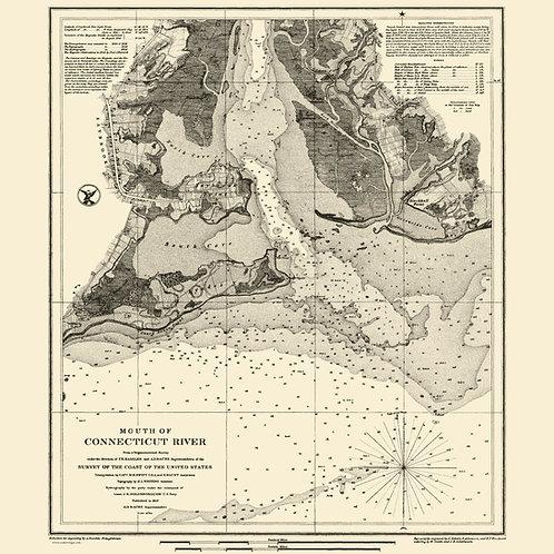Connecticut: Mouth of Connecticut River, 1853