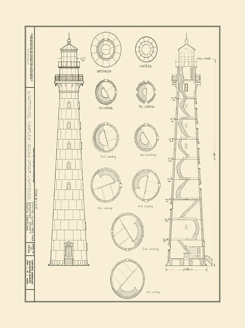 South Carolina: Second Order Lighthouse