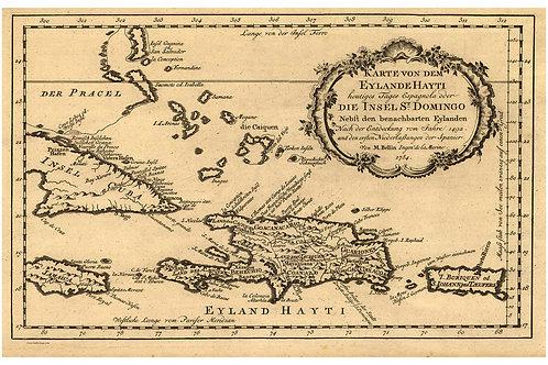 Caribbean, featuring Cuba 1754