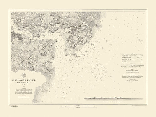 New Hampshire, Portsmouth Harbor 1866
