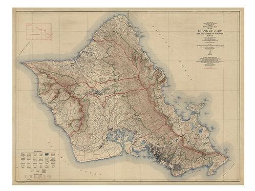 Hawaii: Oahu, 1927