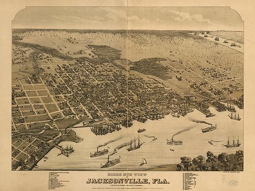 Florida: Jacksonville, 1876