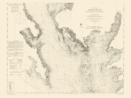Maryland: Chesapeake Bay, 1862