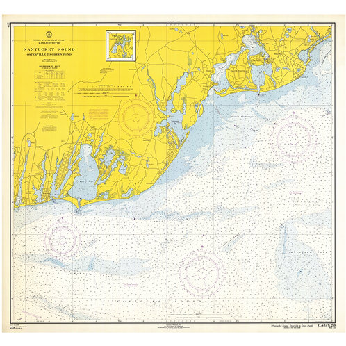 Massachusetts: Nantucket Sound from Osterville to Green Point, 1944