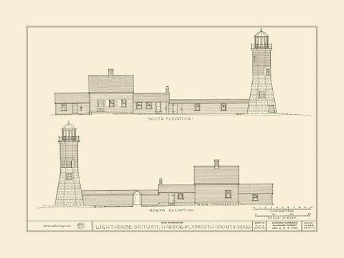 Massachusetts: Scituate Harbor Lighthouse