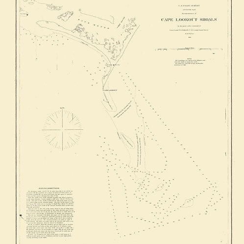 North Carolina: Cape Lookout Shoals, 1864