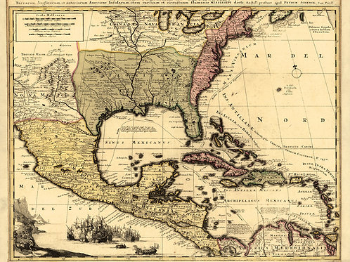 Caribbean: Spanish Florida, early 1600's