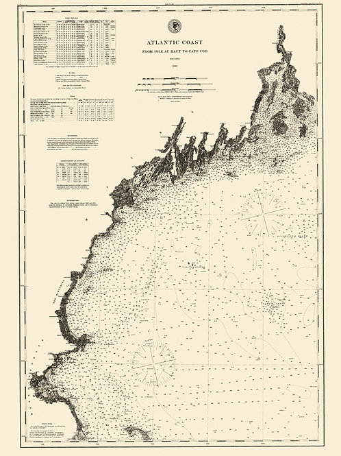 Atlantic Coast (New England), 1881