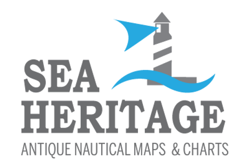 Antique nautical maps and charts