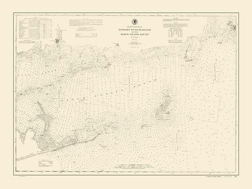 New York: Block Island to Plum Island Sound, 1848