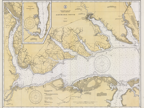 North Carolina: Albemarle Sound, 1929