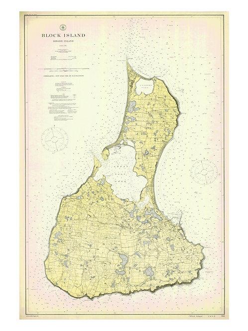 Rhode Island: Block Island, 1914