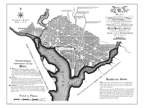 Washington, D.C., 1792
