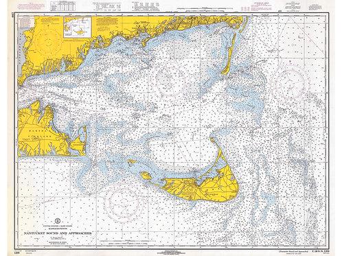 Massachusetts: Nantucket Sound and Approaches, 1919