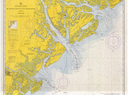 Georgia and South Carolina: St. Helena Sound to Savannah River
