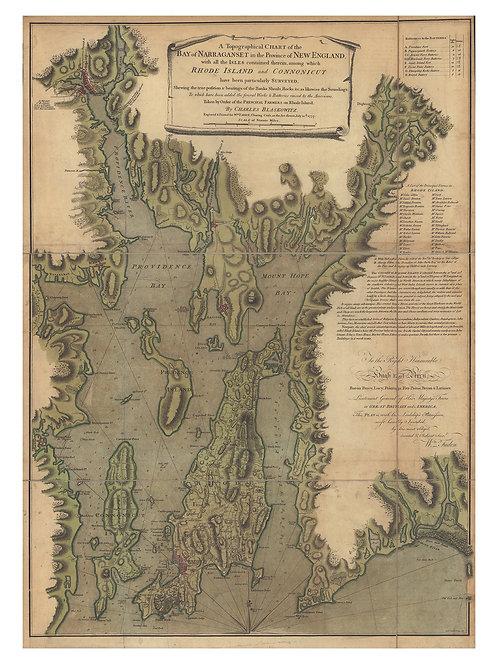 Rhode Island: Narragansett Bay, 1777