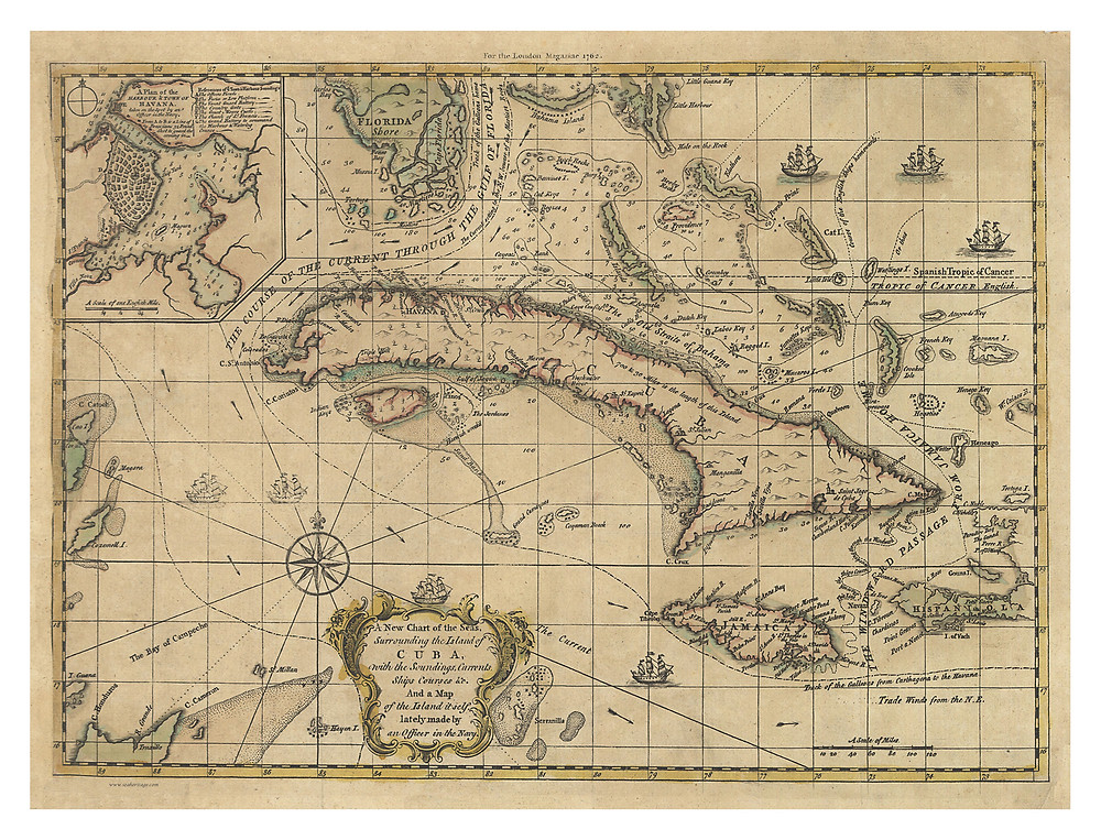 Caribbean, 1762
