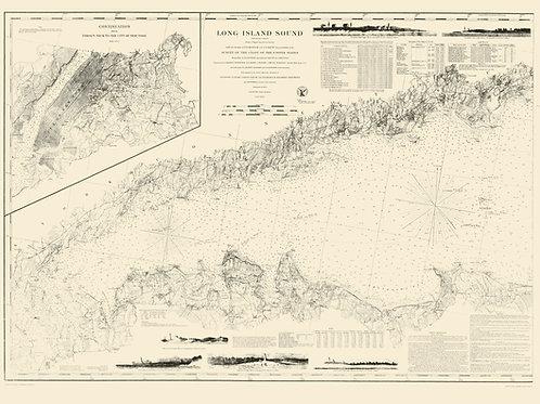 New York: Long Island Sound, 1855