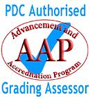 Pole Dance Community authorised grading assessor