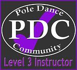 Pole Dance Community Level 3 instructor