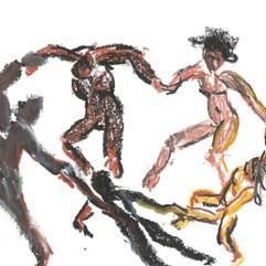 Releitura Matisse - Desenho/pintura