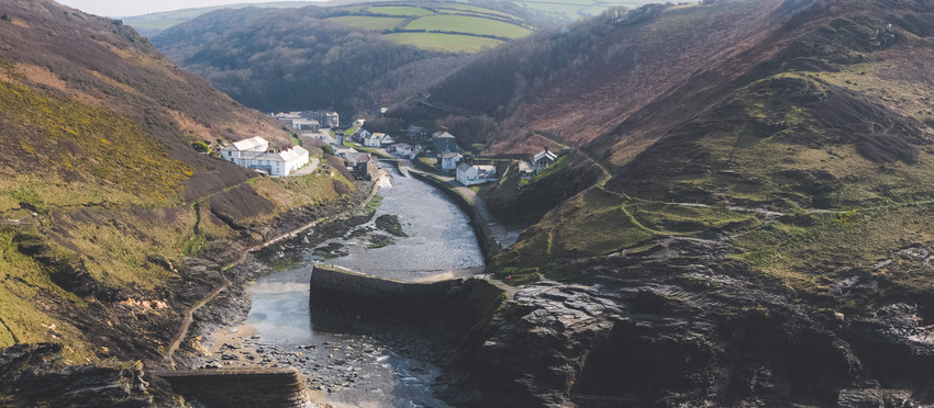 Filming Cornwall from Above