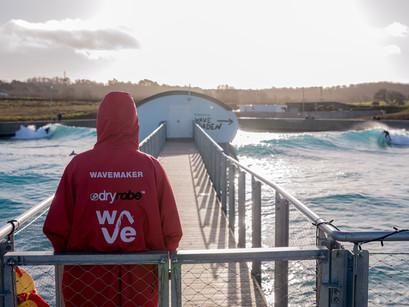 Man-made surfing