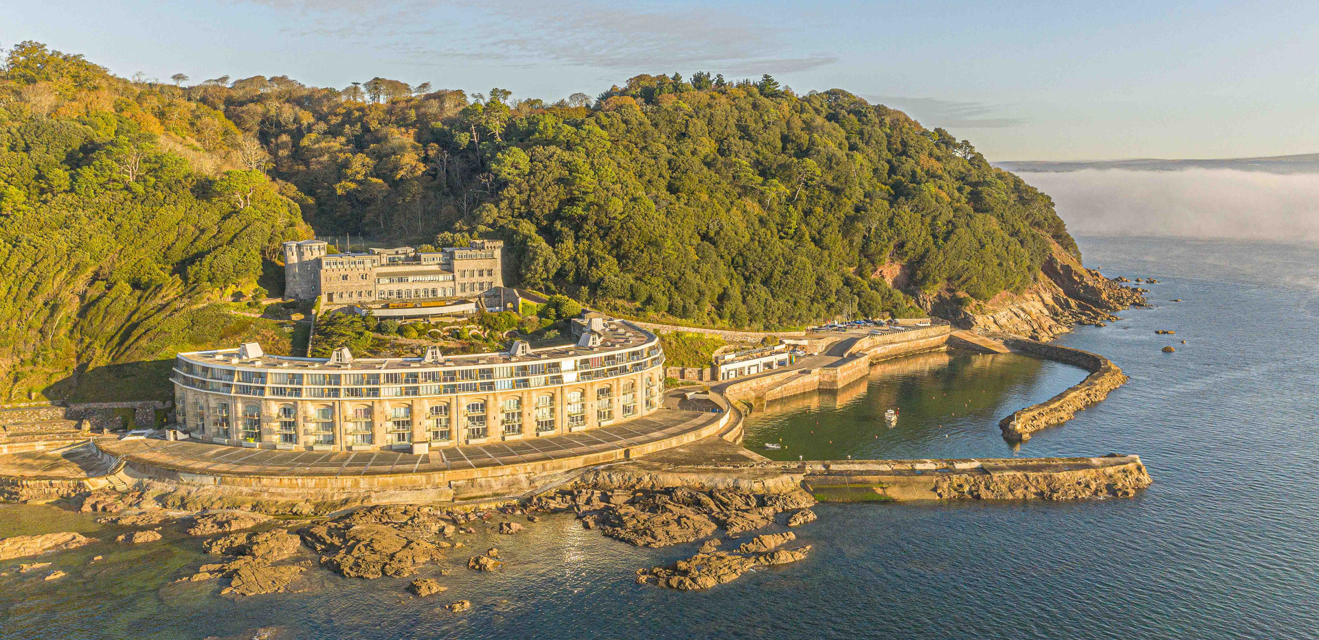 Aerial photography of a stunning property in Plymouth.