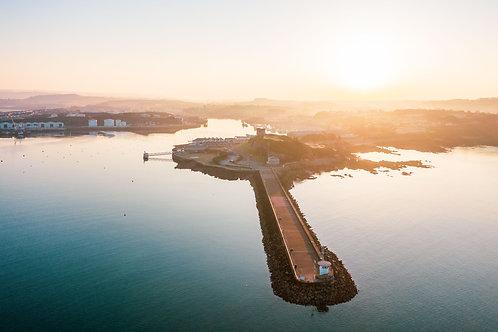 Mount Batten Pier Sunrise