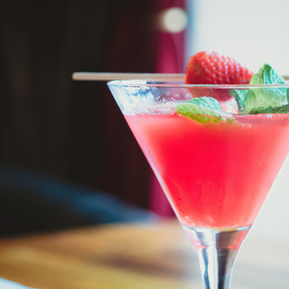 Berry menta Bebida