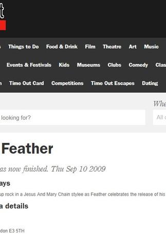 Jonjo Feather / Timeout