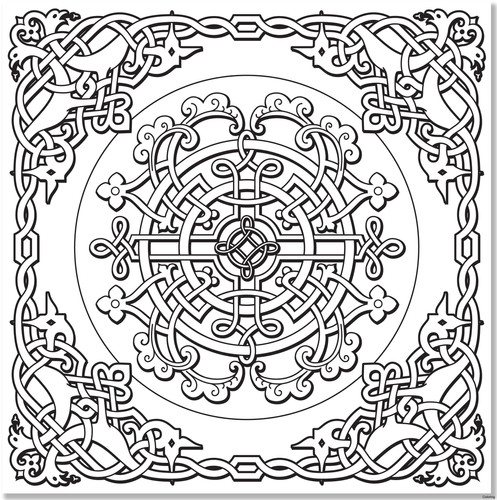 ideas-of-book-of-kells-coloring-pages-be