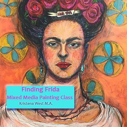 FRIDA KAHLO ONLINE ART CLASS