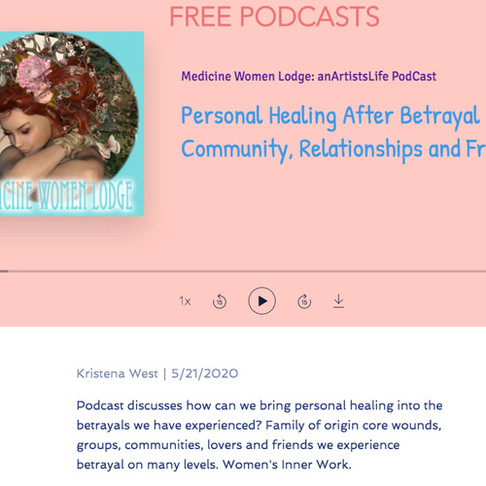 Free Podcast on Personal Healing After Betrayal in Community, Relationships and Friends