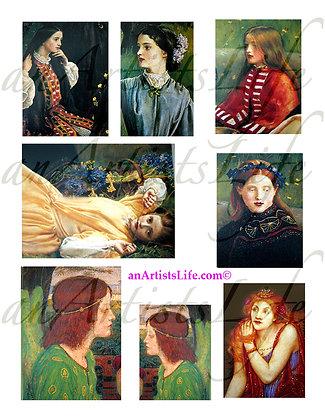 Mavens Collage Sheet Digital Download