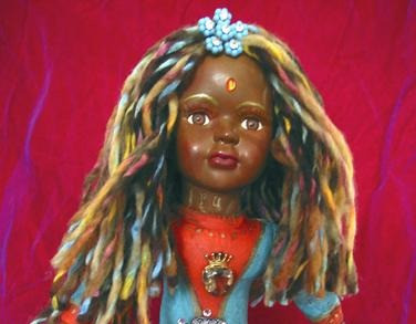UpCycling Thrift Store Dolls - Change the World